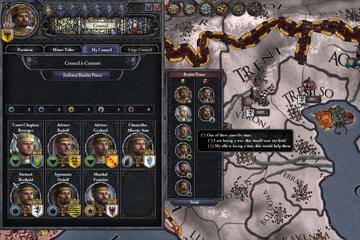 Crusader Kings 2 : Konsey, İyilik Borçları ve Barış
