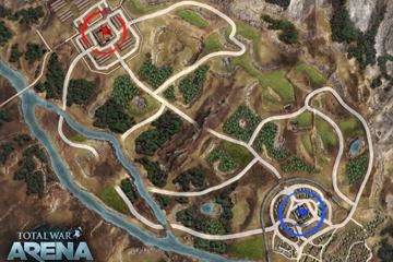 Total War : Arena'ya Yeni Harita : Germania