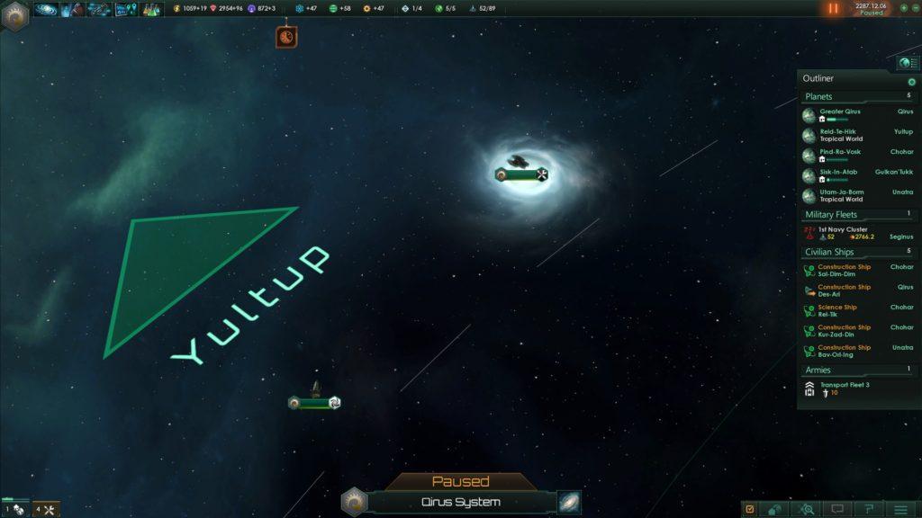 ve yıldız sistemimizin dışına çıkıyoruz...