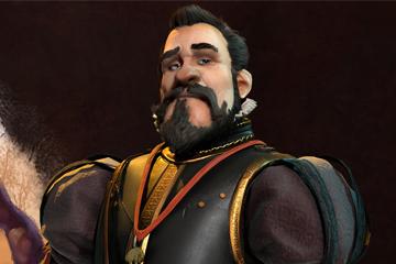 Civilization VI'da İspanya'yı 2. Philip Yönetiyor
