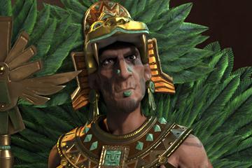 Civilization VI'da Aztekleri Montezuma Yönetiyor