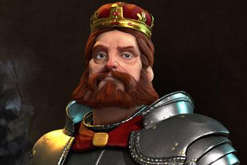 Civilization VI'da Almanya'yı Frederick Barbarossa Yönetiyor
