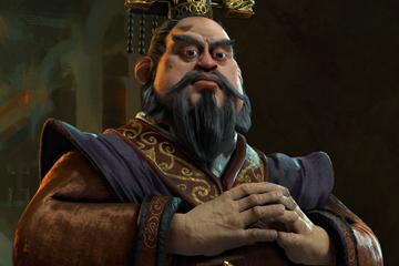 Civilization VI'da Çin'i Qin Shi Yönetiyor