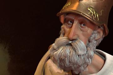 Civilization VI'da Yunanistan'ı Pericles Yönetiyor