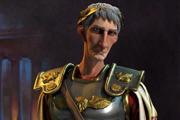 Civilization VI'da Roma'yı Trajan Yönetiyor