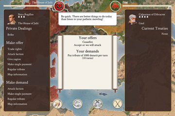 Rome: Total War iPad'te