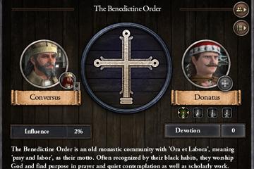Crusader Kings II: Rahipler ve Keşişler