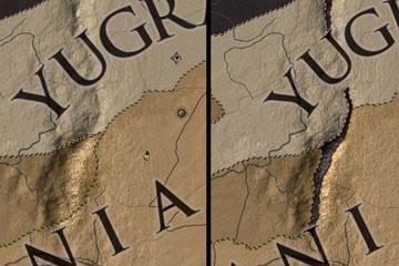 Crusader Kings 2'de Harita Değişiklikleri
