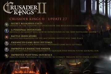 Crusader Kings II: 2.7 Yaması Çıktı