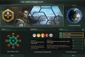 Stellaris: Yönetim Şekillerinde Değişiklikler