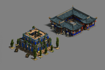 Age of Empires: Definitive Edition'da Bina Grafikleri