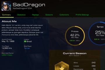 StarCraft: Remastered'da Oyuncu Profilleri