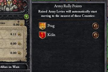 Crusader Kings II'de Toplanma Noktaları