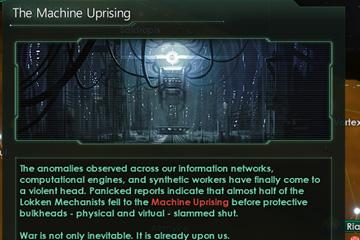 Stellaris'te Robot İsyanları