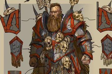 Total War: Warhammer'dan Norsca Çizimleri
