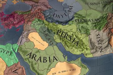 Crusader Kings II – Ortadoğu Harita Değişiklikleri