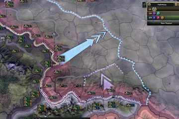 Hearts of Iron IV'da Komuta Zinciri