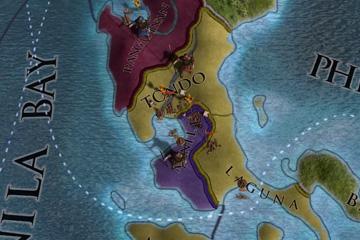 Europa Universalis IV'te Filipinler ve Japonya