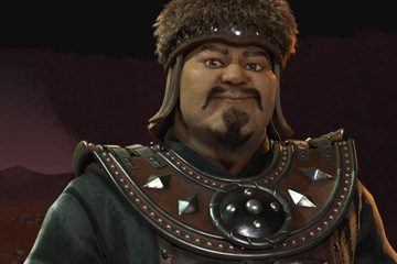 Civilization VI'da Moğollar ve Cengiz Han