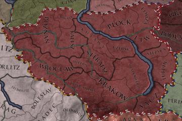 Crusader Kings II'de Polonya Harita Güncellemesi