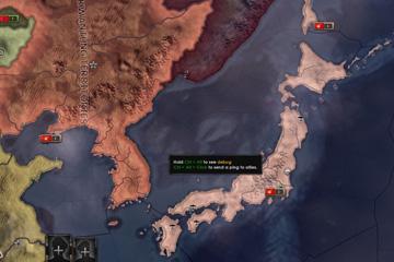 Hearts of Iron IV'de Japonya Değişiklikleri