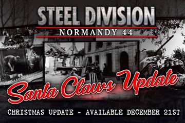 Steel Division: Normandy 44'e Santa Claws Yaması
