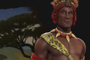 Civilization VI'da Zulu ve Lideri Shaka