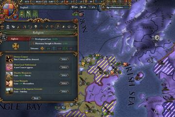 Europa Universalis IV'te Anglikanizm ve Sanayileşme