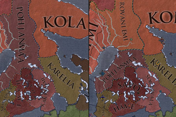 Crusader Kings II'de Finlandiya Harita Güncellemesi