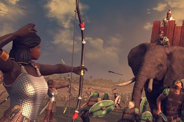 Total War: Rome II – Desert Kingdoms'ta Kush Krallığı