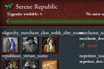 Europa Universalis IV'te Cumhuriyet Reformları