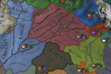 Europa Universalis IV'te Hindistan'daki Değişiklikler #2