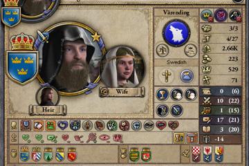 Crusader Kings II'de Karakter Arayüzü Değişiklikleri