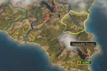 Imperator: Rome'da Harita