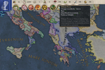 Imperator: Rome'da Kaynak Sistemi