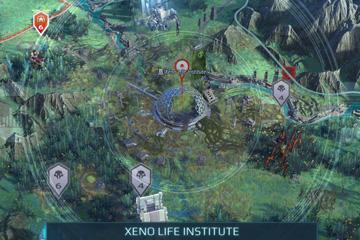 Age of Wonders: Planetfall'da Dünya Haritası Sektör Sistemi