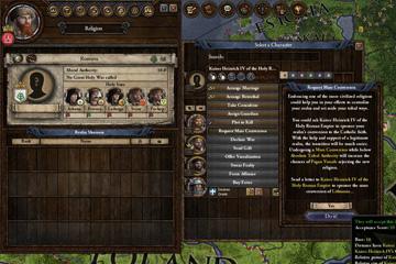 Crusader Kings II'de Toplu Din Değişimi
