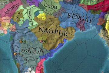Europa Universalis IV – Hindistan'da Kurulabilen Yeni Ülkeler