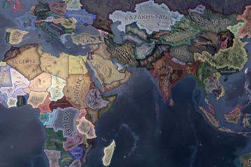 Hearts of Iron IV'da Sınır Değişiklikleri ve Yeni Ülkeler