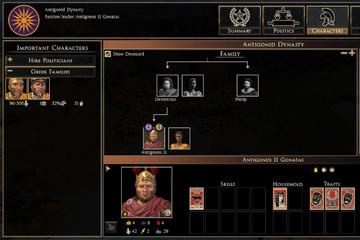 Total War: Rome II'de Aile Ağacı ve Entrikalar