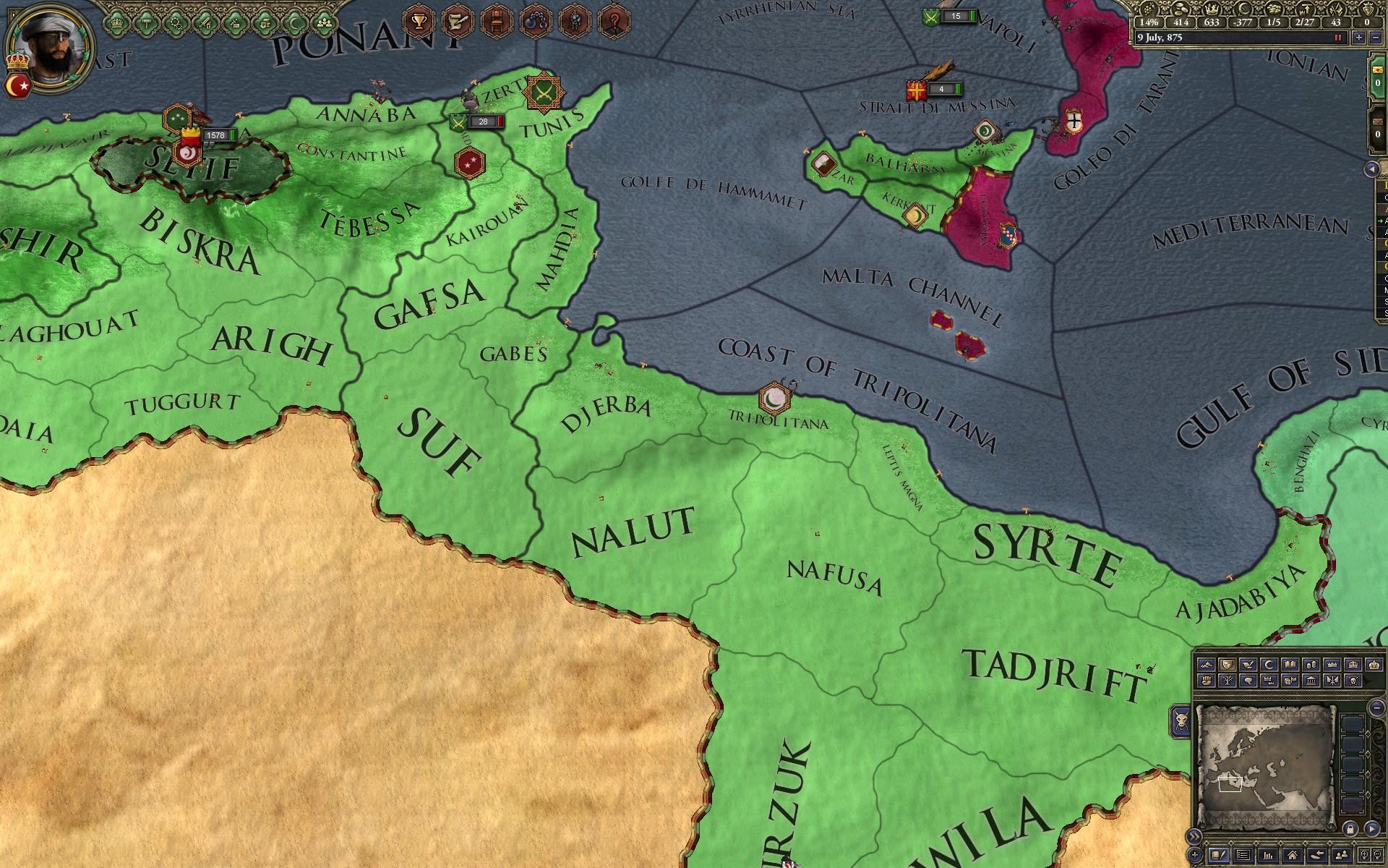 Crusader Kings II'de Afrika Harita Değişiklikleri