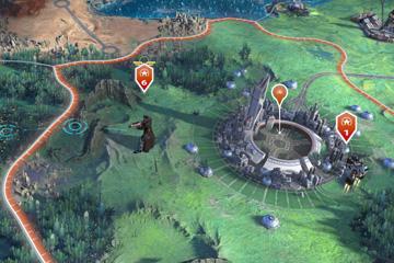 Age of Wonders: Planetfall'da Harita Unsurları: Keşif Safhası