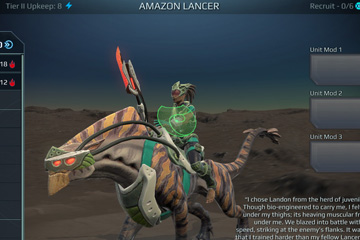 Age of Wonders: Planetfall'da Savaş Birimleri #2