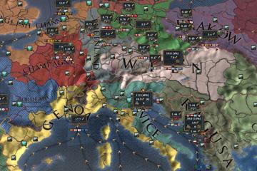 Europa Universalis IV'teki Ticaret Merkezi Değişiklikleri