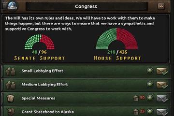 Hearts of Iron IV'te Amerika Değişiklikleri
