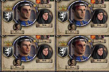 Crusader Kings II'de Düellolar, Yaralar ve Dövmeler