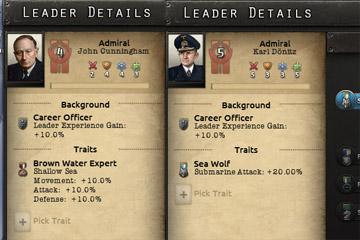 Hearts of Iron IV'te Amiral Özellikleri ve Modlama