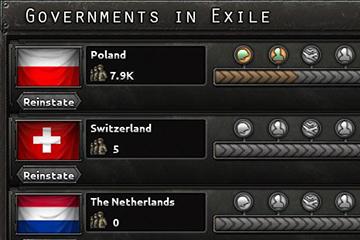 Hearts of Iron IV'te Sürgündeki Hükümetler ve İmparatorluk Konferansları
