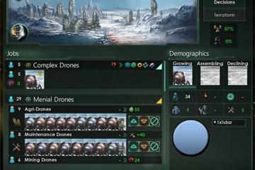 Stellaris'te Gezegen Sistemi Değişikliği 4/4: Gestalt Bilinçler ve Habitatlar