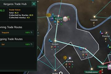 Stellaris'te Ticaret Değeri ve Ticaret Yolu